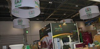NTDC's stand at the 2014 World Travel Market (WTM), London