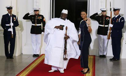 Gambia President, Jameh