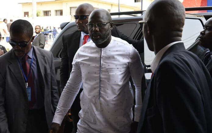 George-Weah on world cup