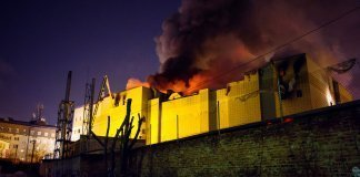 RUSSIA Shopping Mall FIRE-ACCIDENT