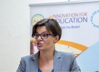 The British Deputy High Commissioner in Lagos, Laure Beaufils