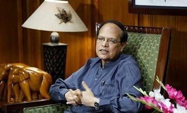 Bangladesh's central bank Governor Atiur Rahman