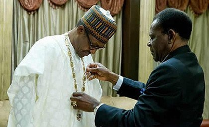 Buhari receives honour