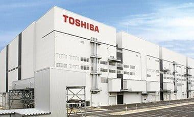 Toshiba Company building