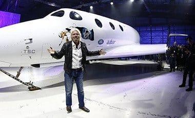 Virgin Galactic Chief, Richard Branson