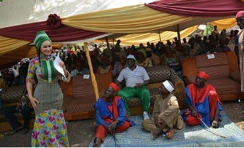 Sally Mbanefo at Nzeh Mada Festival, Akwanga, Nasarawa