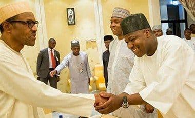 President Buhari, Senator Saraki and Hon. Dogara