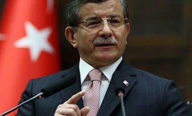 Turkey's PM, Ahmet Davutoglu