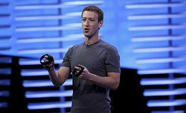 Facebook CEO Mark Zuckerberg on