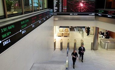 London Stock Exchange lobby