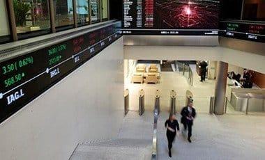 London Stock Exchange lobby