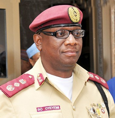 Mr. Boboye Oyeyemi, FRSC Boss