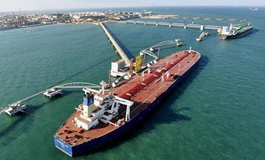 crude oil importing port