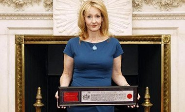 Author J.K Rowling