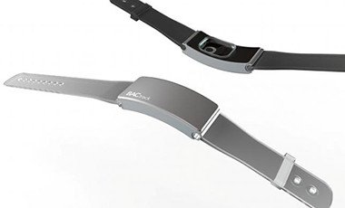 BACtrack Skyn wearable alcohol biosensor