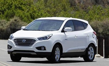 Hyundai Tucson Hydrogen Fuel Cell Electric Vehicle