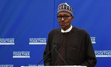 President Buhari is in London for a major anti-corruption summit.