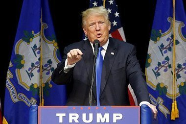 Republican Presidential Candidate, Donald Trump
