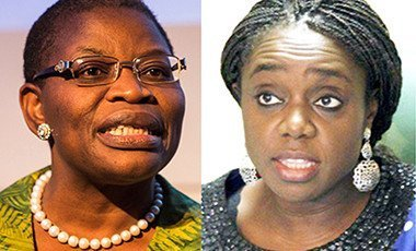Oby Ezekwesili and Kemi Adeosun