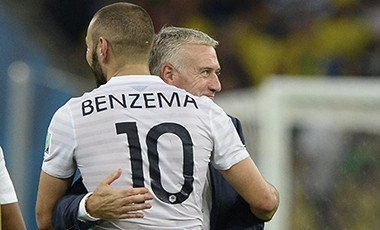Benzema and Deschamps
