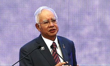 Malaysia's Prime Minister, Najib Razak