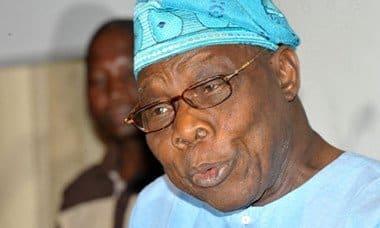Olusegun Obasanjo on Re-Election coalition