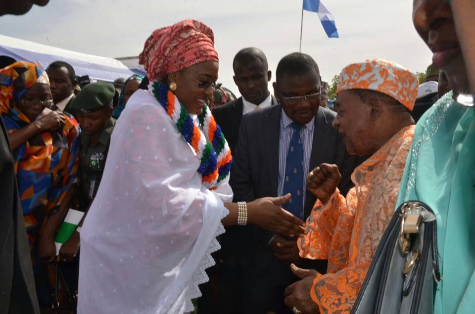 Alaafin Oyo and Aisha Buhari