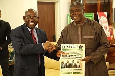 Leadership Management courtesy visit to NCPC Executive Secretary