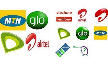 Logo of telecoms operators in Nigeria