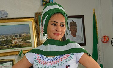 Sally Mbanefo in Fulani attair
