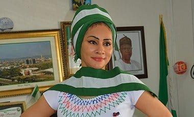 Sally Mbanefo, NTDC DG in Fulani attair