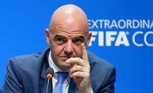 FIFA president, Mr Gianni Infantino