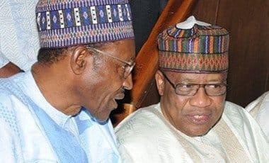 President Buhari and Maj. Gen. Ibrahim Babangida