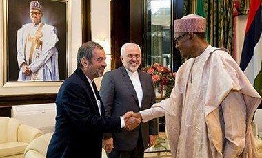 President Buhari with Iran President