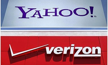 Yahoo and Verizon logos
