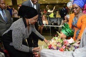 Aisha Buhari US visit