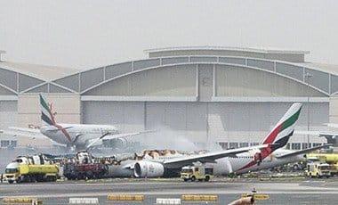 Emirates Airline flight