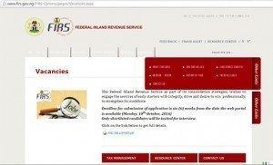 FIRS Portal