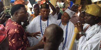 Ooni of Ife in Badagry