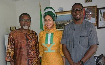 Sally Mbanefo, Mahmood Ali-Balogun and Odera Ozoka