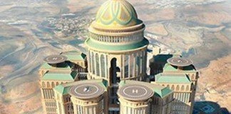 world biggest hotel in Mecca