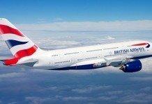 BA A380 Airborne