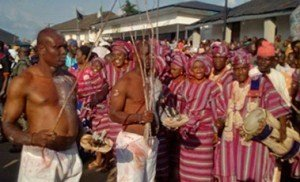 participants at Olojo Festival