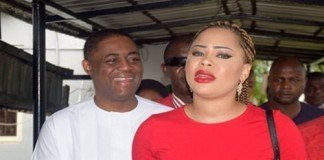 Fani-Kayode and wife, Precious