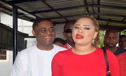 Fani-Kayode and wife, Precious