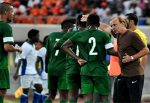 Rohr with Supereagles