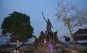 New Moremi Ajasoro statue