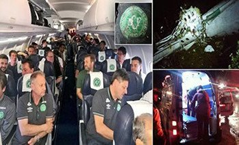 Brazil Football Team Plane Crash