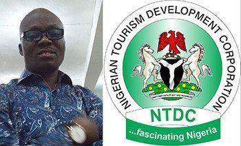 Wale Ojo-Lanre and NTDC Logo