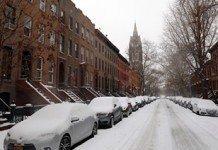 US snowfalls